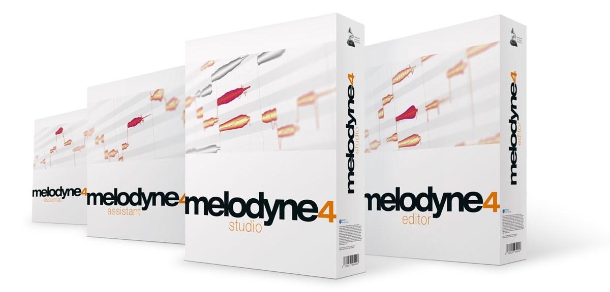 Melodyne 4 ワイド画像